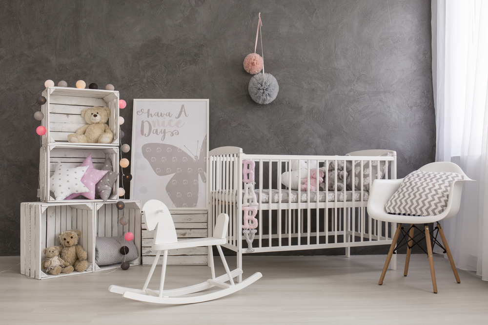 cozy baby nursery room