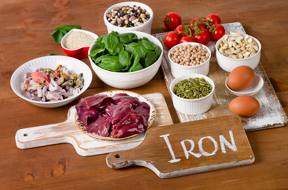 foods rich in iron after postpartum bleeding