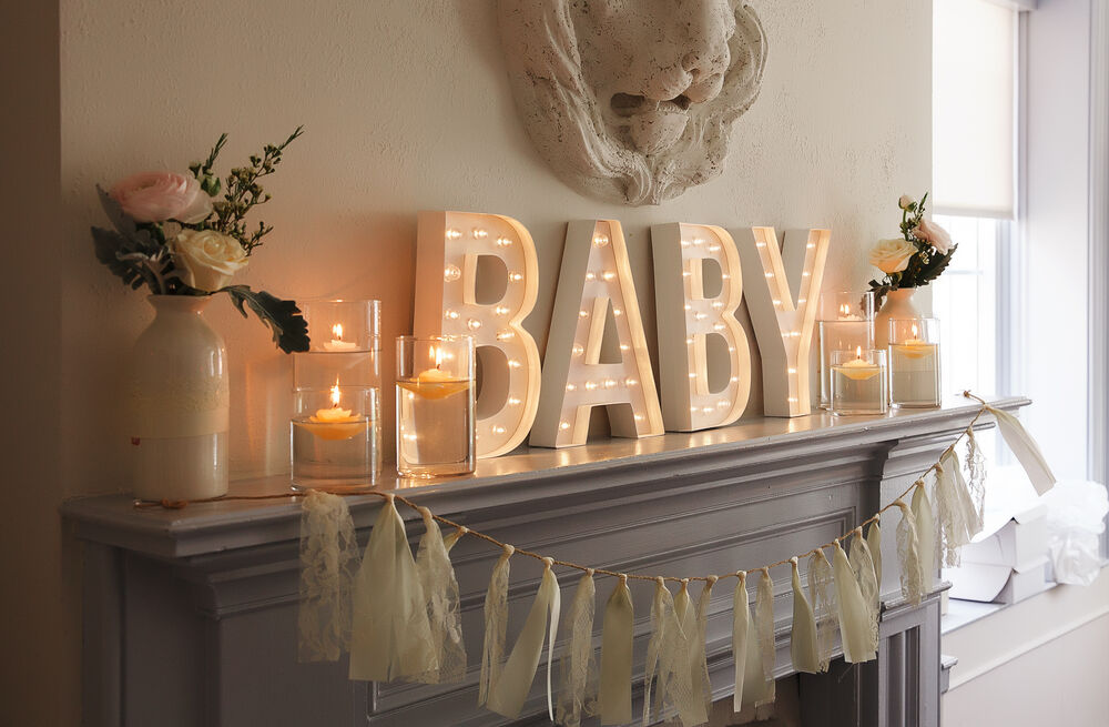 Decoration for a baby shower cute party