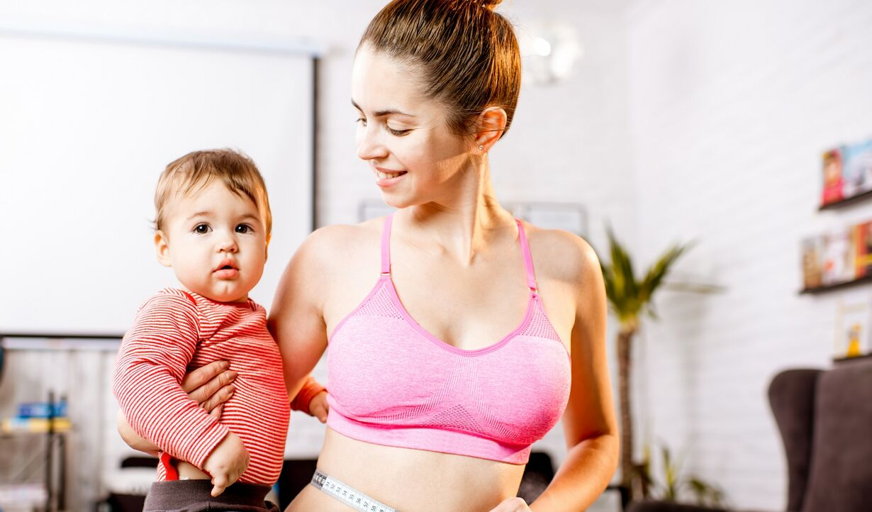 How to lose belly fat after third baby