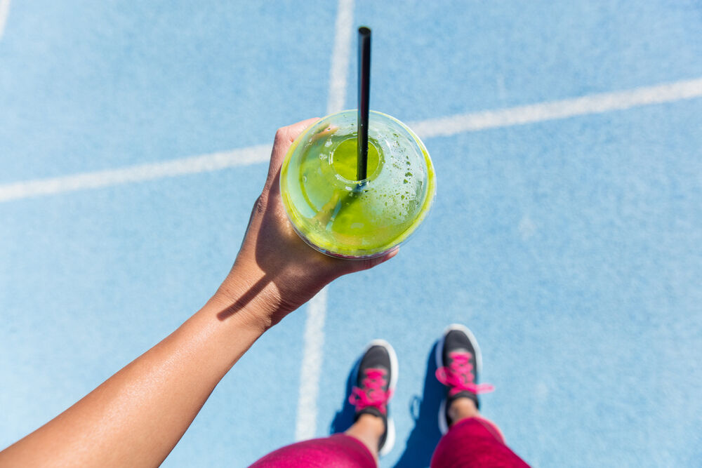 Smoothie - a great post-workout snack